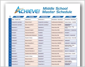 achieve physical education curriculum rh achievepe org middle school curriculum guides for family and consumer science junior high school curriculum guide 2017